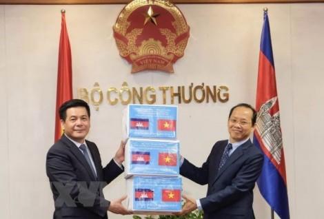 Việt Nam - Campuchia thúc đẩy quan hệ thương mại, công nghiệp