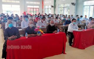 Ứng cử viên đại biểu Quốc hội, HĐND tỉnh, huyện tiếp xúc cử tri