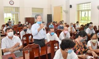 Ứng cử viên đại biểu HĐND tỉnh tiếp xúc cử tri đợt 2, từ ngày 13 đến 20-5-2021