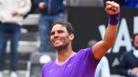 Nadal hạ Alexander Zverev, vào bán kết Italian Open 2021