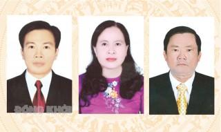 Tiểu sử tóm tắt và chương trình hành động của ứng cử viên đại biểu HĐND tỉnh, đơn vị bầu cử số 5