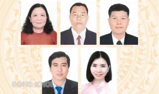 Tiểu sử tóm tắt và chương trình hành động của ứng cử viên đại biểu HĐND tỉnh, đơn vị bầu cử số 17