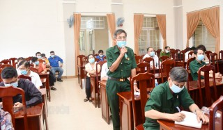 Ứng cử viên đại biểu HĐND tỉnh, huyện tiếp xúc cử tri