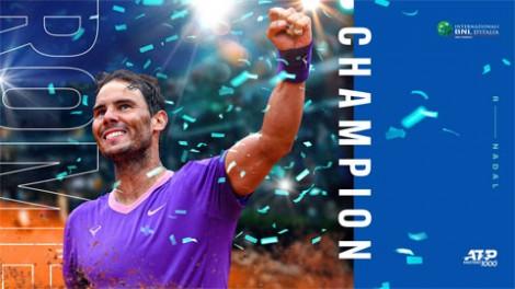 Nadal cân bằng kỷ lục Masters của Djokovic