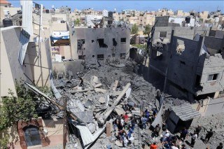 Xung đột Israel - Palestine: Israel nhất trí ngừng bắn với Hamas