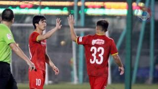 Công Phượng lập cú đúp, ĐT Việt Nam lại thắng 2 trận trước U22 Việt Nam