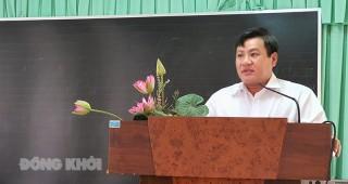 Chợ Lách triển khai biên soạn đề án xây dựng huyện nông thôn mới nâng cao