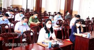 Hội nghị công tác tổ chức thi tốt nghiệp THPT năm 2021