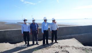 Khảo sát tình hình triển khai các dự án điện gió tại huyện Thạnh Phú