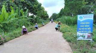 Phú Đức có thêm tuyến đường hoa từ mô hình Dân vận khéo