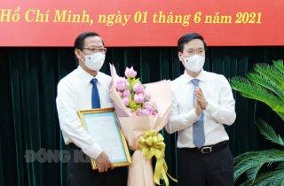 Ông Phan Văn Mãi làm Phó bí thư Thường trực Thành ủy TP. Hồ Chí Minh