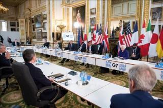 Giới chức G7 hoan nghênh thỏa thuận về thuế doanh nghiệp toàn cầu