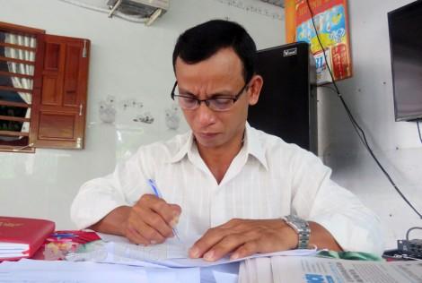 Ông Huỳnh Nam Trung nhiệt tình, tâm huyết trong công việc