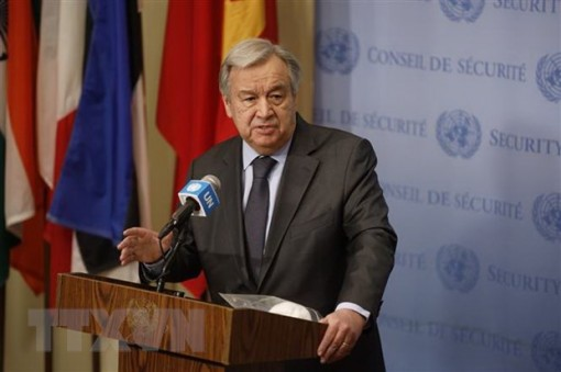 Tổng thư ký Liên hợp quốc Antonio Guterres đắc cử nhiệm kỳ hai