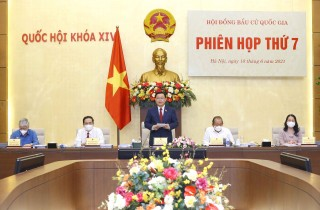 Thông qua nghị quyết công bố kết quả bầu cử, danh sách đại biểu Quốc hội khóa XV