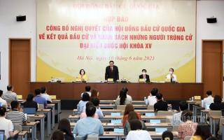 Công bố 499 người trúng cử Đại biểu Quốc hội khoá XV