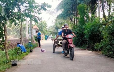 Bình Hòa hoàn chỉnh tiêu chí giao thông
