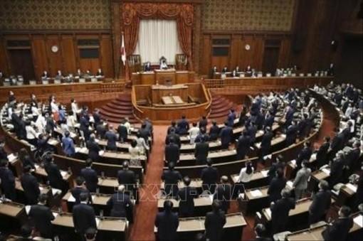 Quốc hội Nhật Bản thông qua dự luật sửa đổi Hiến pháp