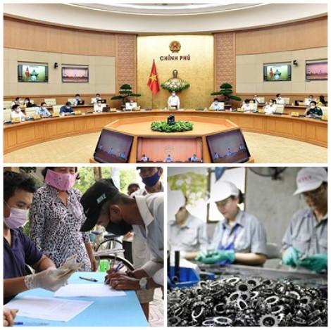 Chỉ đạo, điều hành của Chính phủ, Thủ tướng Chính phủ nổi bật tuần từ 7 đến 11-6-2021