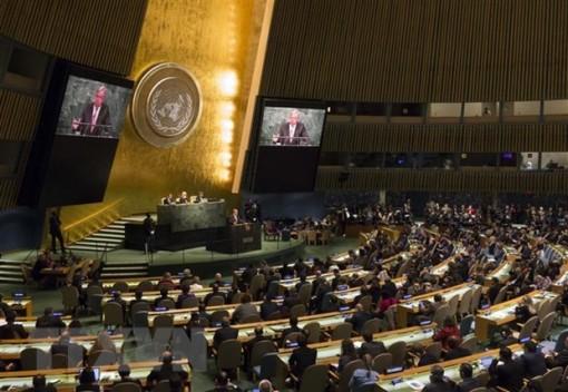 Iran giành lại quyền bỏ phiếu tại Đại hội đồng Liên hợp quốc