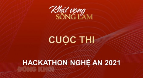 Cuộc thi công nghệ Hackathon Nghệ An 2021