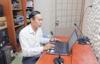Chuyển đổi số ở Đài Truyền thanh Thạnh Phú