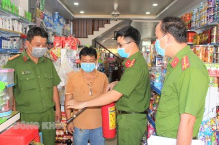 Tăng cường công tác tuyên truyền, kiểm tra an toàn phòng cháy và chữa cháy