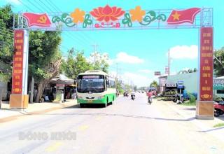 Thị trấn Bình Đại tích cực xây dựng văn minh đô thị