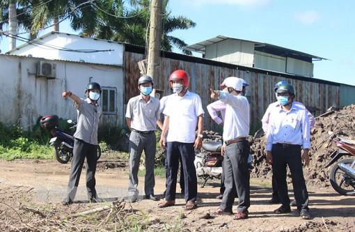 Đẩy nhanh tiến độ Dự án Hạ tầng thiết yếu ổn định đời sống dân cư Phường 8 - Phú Hưng