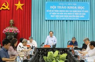 Hướng đến kỷ niệm 200 năm Ngày sinh danh nhân Nguyễn Đình Chiểu