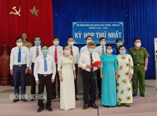 HĐND TP. Bến Tre, Châu Thành tổ chức Kỳ họp thứ nhất
