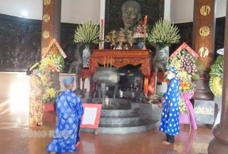 Kỷ niệm 199 năm Ngày sinh Nhà thơ yêu nước Nguyễn Đình Chiểu và Ngày hội truyền thống văn hóa Bến Tre