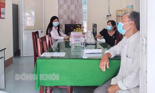 Tòa án nhân dân huyện Chợ Lách giải quyết án đạt tỷ lệ cao