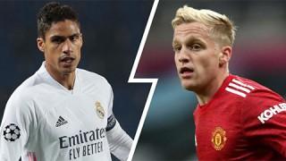 Tin chuyển nhượng 4-7-2021: Varane = Van de Beek + 50 triệu euro?