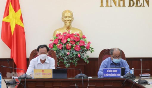 Hội nghị trực tuyến sơ kết sản xuất trồng trọt vụ Hè Thu 2021
