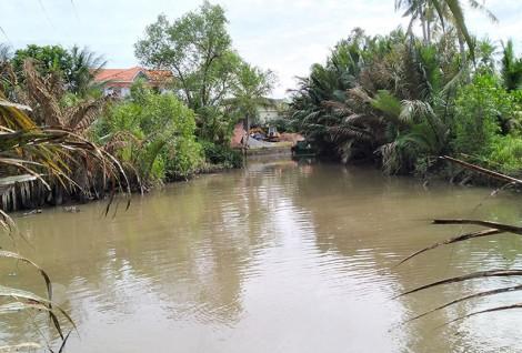 Người dân xã Phú Mỹ mong sớm hoàn thành 3 đập ngăn mặn, ngăn lũ