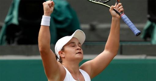 Ashleigh Barty đi vào lịch sử tennis thế giới