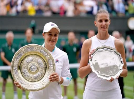 Ashleigh Barty vô địch Wimbledon 2021