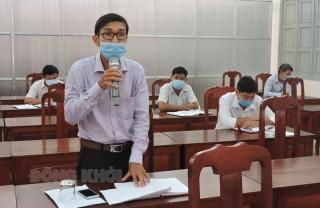 Châu Thành, Mỏ Cày Nam họp Ban Chỉ đạo phòng chống dịch Covid-19
