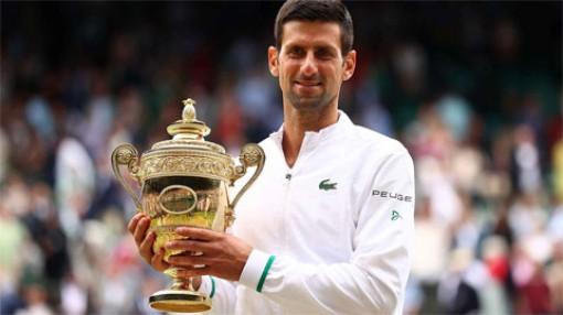 Djokovic vô địch Wimbledon 2021, cân bằng kỷ lục Grand Slam của Federer và Nadal