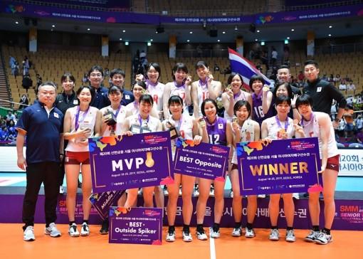 Nối gót Việt Nam, đương kim vô địch rút khỏi giải bóng chuyền Vô địch châu Á