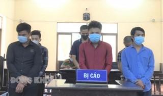 Trộm cắp tài sản, 6 bị cáo lãnh án 17 năm 9 tháng tù