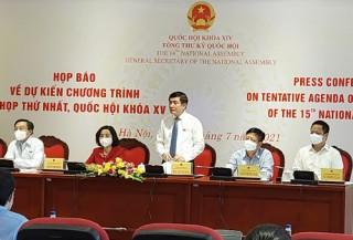 Kỳ họp thứ nhất, Quốc hội khóa XV chính thức khai mạc vào sáng 20-7-2021