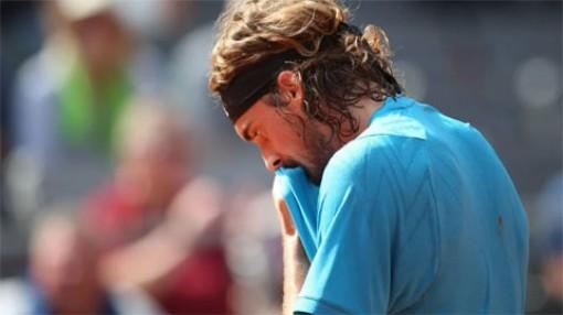 Stefanos Tsitsipas thua ngược ở tứ kết giải ATP đất nện tại Hamburg