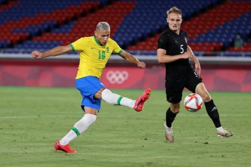 Richarlison lập hat-trick giúp ĐKVĐ Brazil hạ Đức