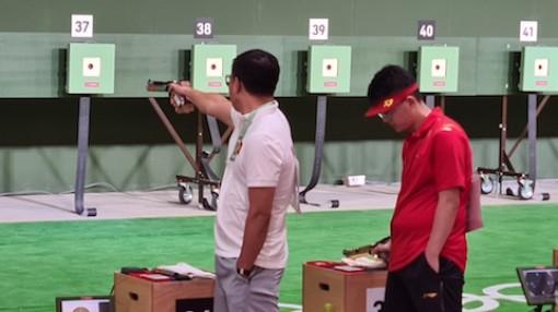 Hoàng Xuân Vinh không lọt vào chung kết môn bắn súng