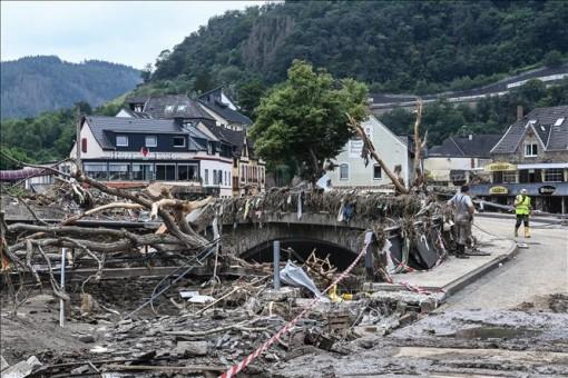 Hàng trăm người thiệt mạng, mất tích trong đợt mưa lũ nghiêm trọng tại Đức