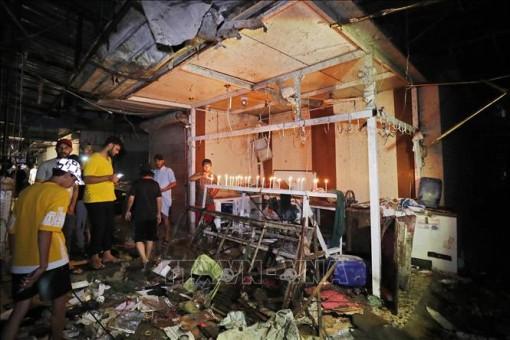 Iraq bắt giữ nghi phạm đánh bom ở Baghdad