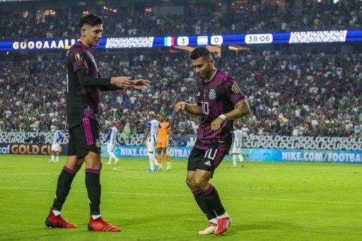 El Tri theo chân Qatar vào bán kết
