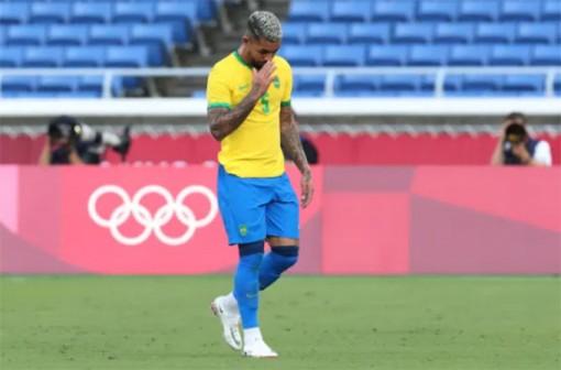 Luiz nhận thẻ đỏ, U23 Brazil chia điểm với U23 Bờ Biển Ngà